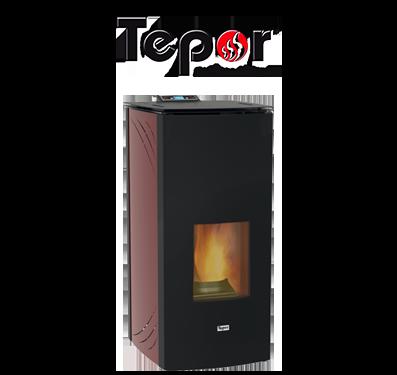 tepor modello termostufa Acciaio Idro